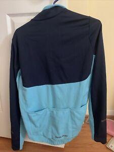 PEARL iZUMi Select Men's Thermal Cycling Jersey Blue Size Medium