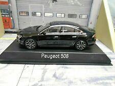 PEUGEOT 508 Limousine 2018 black schwarz Norev NEU 1:43