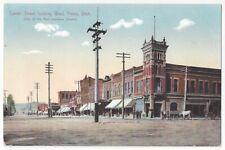 1909 Provo, Utah - Center Street, Mormon Related Vintage Postcard