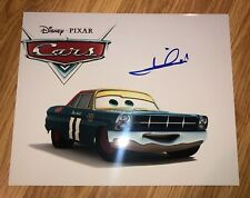 Mario Andretti Signed Autograph 8x10 Photo PROOF CARS DISNEY PIXAR Picture