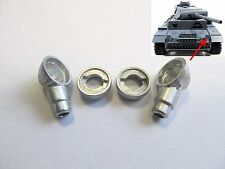 Mato Mt105 German Panzer Iii 1/16 Rc Tank Metal Headlight