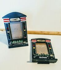 LIONEL Trains Officially Licensed PHOTO FRAME -2002- Pic Opening 3x2.5, Lot of 2