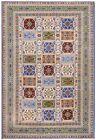 Rare Vintage Moroccan Rug Vintage Handmade Area Rug Villa Blue 7x10 199cmx305cm