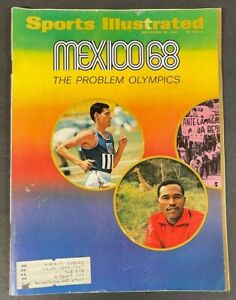 1968 SEPTEMBER 30 SPORTS ILLUSTRATED MAGAZINE MEXICO68 THE PROBLEM OLYMPICS