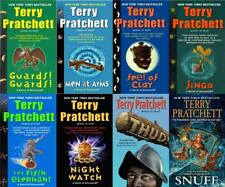 Terry Pratchett Discworld CITY WATCHERS Series PAPERBACK Collection Books 1-8