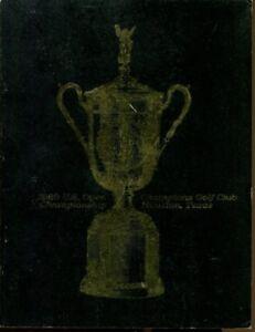 1969 US Open Golf Program Houston Orville Moody Ex 38039RGS mbx1