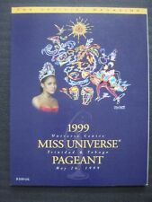 1999 MISS UNIVERSE PROGRAM BOOK - NEAR MINT CONDITION