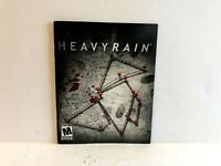 Heavy Rain PS3 MANUAL ONLY Authentic