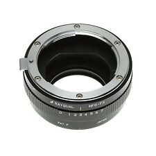 Kindai(Rayqual) Mount Adapter for Fuji X body to Nikon F(G) lens Made in Japan