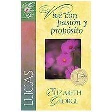 Lucas - Vive con Pasion y Proposito by Elizabeth George (2013, Paperback)
