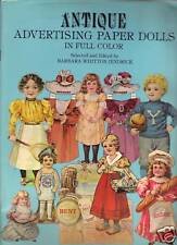 Antique Advertising Paper Dolls by Barbara Whitton Jendrick