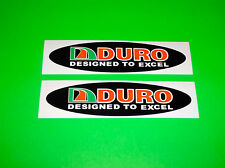 DURO TIRES BICYCLE ATV MOTORCYCLE SCOOTER GOLF CART TRAILER DECALS STICKERS