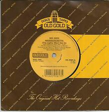 BEE GEES Massachussets UK SINGLE OLD GOLD 1986 REISSUE