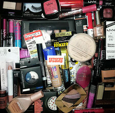 NYX Cosmetics Maybelline CoverGirl & More Wholesale 100 pc Mixed Makeup Lot