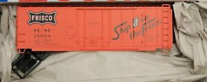 HO Scale - ACCURAIL 3138 FRISCO SL-SF 40' Plug Door Insulated Steel Boxcar - KIT