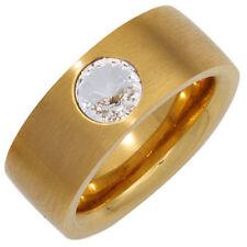 Modeschmuck-Ringe ohne Stein (19,1 mm Ø) Edelstahl - 60