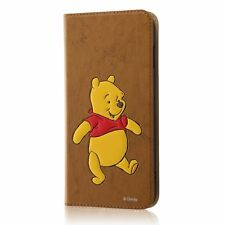 Ray-Out Notebook type Case for iPhone7 Plus Disney Winnie the Pooh RT-DP13J/PO