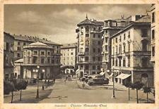 3867) SAVONA, PIAZZA ARMANDO DIAZ, ANIMATA, PASTICCERIA, VG. NEL 194?
