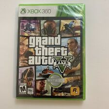 GTA V Grand Theft Auto 5 Rockstar - Microsoft Xbox 360 Video Games NEW