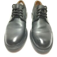 Bostonian Mens Hommes Black Leather Lace Up Casual Dress Shoes Size 9.5 Us