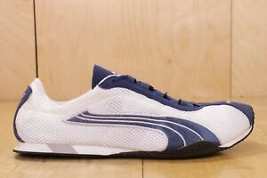 PUMA RUNNING  Eco Ortholite White Blue Sneakers 185372 Shoes Sz 11 EH02