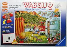 jigsaw puzzle 500 pc WASGIj? Camping Commotion Bear Necessities Ravensburger
