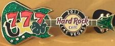 Hard Rock Cafe Las Vegas 2011 777 Hufeisen & Vierblättriges Kleeblatt Gitarre