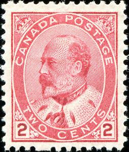 Canada Scott 90 King Edward VII  VF MH OG (19601)