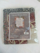 Manual Woodworkers & Weavers 94516 Throw-Broken Chain 50 x 60-Inch Tapestry