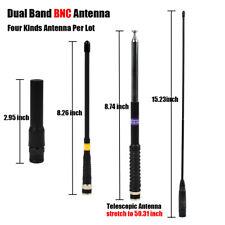 4 Kinds BNC Antenna for HAM Uniden BC125AT BC75XLT BC95XLT BC125AT Scanner Radio