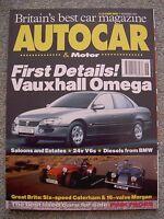 Autocar (17 Nov 1993) Morgan 4/4 vs Caterham 7, Audi 80, Volvo 850, Mercedes 500