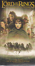 The Lord of the Rings: The Fellowship of the Ring (VHS, 2002) Fantasy - New