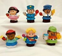 Fisher Price Little People Lot Of 6 Figures People 2001-2004