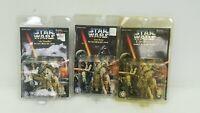 Star Wars Diecast Metal Keychain Set of 3 Luke See-Threepio Artoo-Detoo