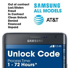Premium Unlock Code  Network Pin for Samsung Galaxy S5 SM-G900A locked to At&t