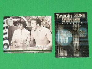 2000 Twilight Zone THE NEXT DIMENSION Series 2 72 CARD SET! WILLIAM SHATNER!