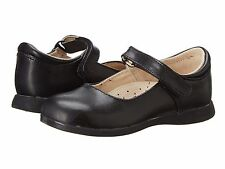 Black LEATHER MaryJanes School Shoes FootMates  Girls Size 11 1/2 M