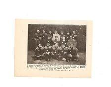 Columbia Club Manila P.I. 1907 Football Team Picture