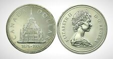Canada 1976 100th Library of Parliament Centennial Specimen Silver Dollar!!