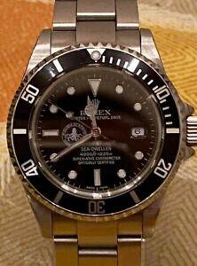 Watch clock orologio Rolex Seadweller 16600 polipetto franken super full set!