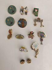 Lot (14) Masonic / Freemason Pins/Broaches (OES, ORA, Rose Parade)