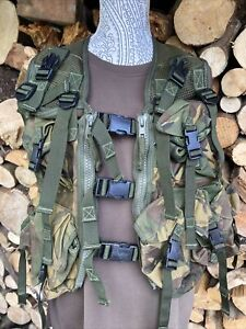 Genuine Used British Army Military Surplus Dpm Waistcoat Mans GP Ops Work PPE VG