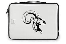Goat decal, tribal antelope sticker, collant de chevre, goat wall decor