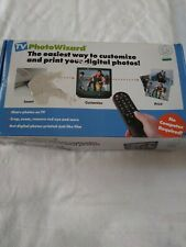 TV photo wizard Customize and print your digital photos. No computer required.