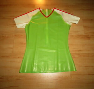 Latex Shirt Neu New Herren Men Small Rubber Gummi Hemd Muskelshirt Muscle
