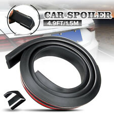 Flexible Universal Car Spoiler Rear Roof Trunk Lip Wing Tail Trim 4.9Ft/1.5M US