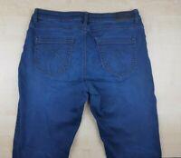 SOCCX Damenjeans Dunkenblau Gr. W32 L32 Damenhose Stretch Jeans
