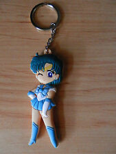 SAILOR MOON MERCURY / AMI MIZUNO KEY CHAIN SOFT PLASTIC 7 CM LLAVERO NEW
