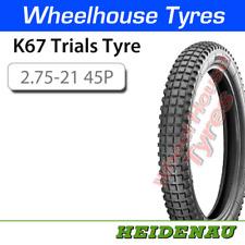 Heidenau K67 Classic Trials Tyre 2.75-21 45P T/T