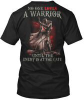Loves A Warrior Knights Templar Hanes Tagless Tee T-Shirt